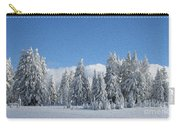 Southern Oregon Forest In Winter Carry-all Pouch