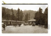 Southern Pacific Depot At Brookdale Santa Cruz Co. Cal. Circa 1910 Carry-all Pouch