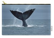 Southern Right Whale Fluke Argentina Carry-all Pouch