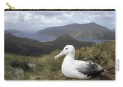 Southern Royal Albatross On Nest Carry-all Pouch