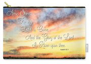 Southern Sunset - Digital Paint IIi With Verse Carry-all Pouch