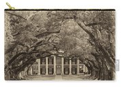 Southern Time Travel Sepia Carry-all Pouch