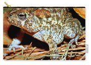 Southern Toad Bufo Terrestris Carry-all Pouch