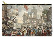 Southwark Fair, 1733, Illustration Carry-all Pouch
