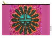 Southwest Sunburst Sunface Carry-all Pouch
