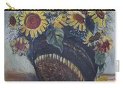 Southwest Sunflowers Carry-all Pouch