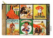 Souvenir Copies Of Old Spanish Carry-all Pouch