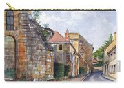 Souvigny Eclectic Architecture In A Village In Central France Carry-all Pouch