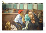 Soyer's A Railroad Station Waiting Room Carry-all Pouch