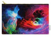 Space Cat Angel - 2 Carry-all Pouch by Julie Turner