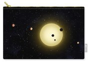 Space Kepler 11 Introduction Carry-all Pouch
