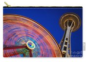 Space Needle And Wheel Carry-all Pouch