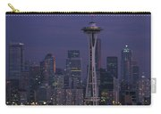 Space Needle At Twilight Carry-all Pouch