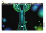 Space Needle In Aqua 2 Carry-all Pouch