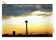 Space Needle Sunset Sillouette Carry-all Pouch