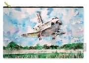 Space Shuttle Landing Carry-all Pouch