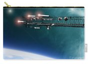 Space Station Communications Antenna Carry-all Pouch by Antony McAulay