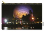 Spaceship Earth At Night Carry-all Pouch
