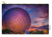 Spaceship Earth Glow Carry-all Pouch