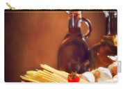 Spaghetti Pasta With Tomatoes And Garlic Carry-all Pouch