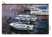 Boats In Spain Series 26 Carry-all Pouch