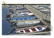 Row Boats In Spain Series 27 Carry-all Pouch