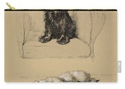 Spaniel And Sealyham, 1930 Carry-all Pouch