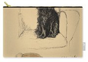 Spaniels, 1930, Illustrations Carry-all Pouch