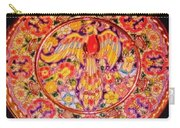Spanish Bird Plate Carry-all Pouch