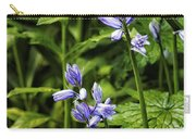 Spanish Bluebells Carry-all Pouch