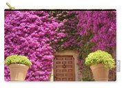 Spanish Door With Bougainvillea Carry-all Pouch