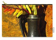 Spanish Flags In Pewter  Carry-all Pouch