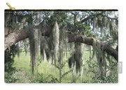 Spanish Moss Draped Oak Carry-all Pouch