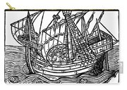 Spanish Ship, 1496 Carry-all Pouch