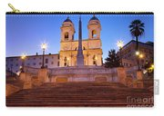 Spanish Steps Dawn Carry-all Pouch