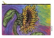 Spanish Sunflower Carry-all Pouch