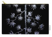 Sparkling Diamond Snowflakes Carry-all Pouch