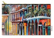 Sparkling French Quarter Carry-all Pouch by Diane Millsap