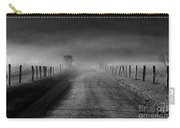 Sparks Lane In Black And White Carry-all Pouch