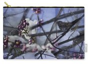 Sparrow And The Beauty Berry Carry-all Pouch