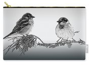Sparrow Digital Art Carry-all Pouch