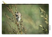 Sparrow In The Weeds Carry-all Pouch
