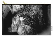 Sparrow On A Tree Carry-all Pouch