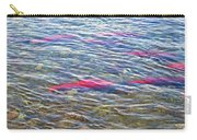 Spawning Salmon In Moraine River In Katmai National Preserve-ak Carry-all Pouch