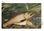 Spawning Salmon Carry-all Pouch