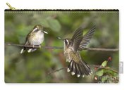 Speckled Hummingbirds Carry-all Pouch