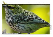 Speckled Tanager - Tangara Guttata Carry-all Pouch