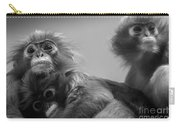Spectacled Langur Family Carry-all Pouch