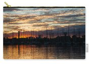 Spectacular Sky - Toronto Beaches Marina Carry-all Pouch