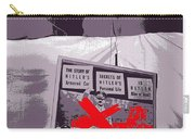 Spectators  Circus Tent Auction Adolf Hitler's 1941 Mercedes  Scottsdale Arizona 1973-2009 Carry-all Pouch